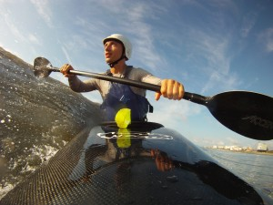 Surfing with the Nomad - Foam Core/Carbon Straight Shaft